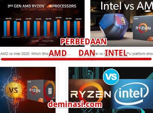 perbedaan amd dan intel 2021