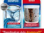 Review Harga Mesin Cuci Denpoo 6Kg DWF-073 HT 1 Tabung