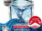 Review Mesin Cuci Denpoo 6Kg DWF-073 HT 1 Tabung